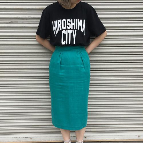 HIROSHIMA CITY Tシャツ BLACK×WHITE hsmct02
