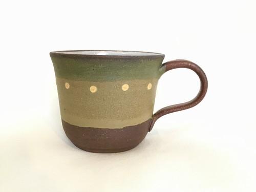 陶器 彩りマグカップ(工房ことりの)