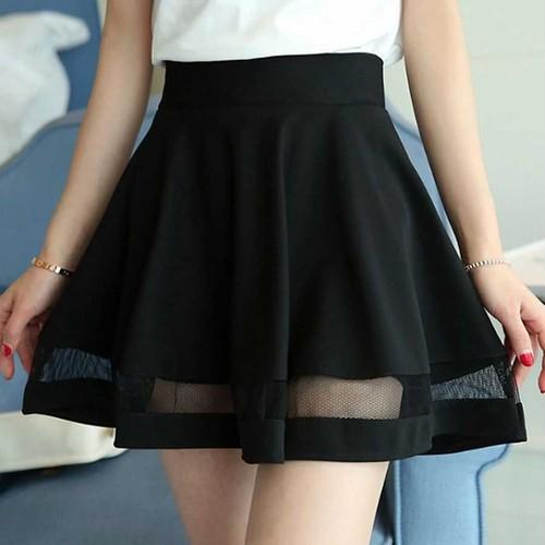 透け感が可愛い♪ フレアスカート / フェミニン スカート N288