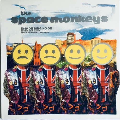 【12inch・英盤】The Space Monkeys ‎/ Keep On Tripping On