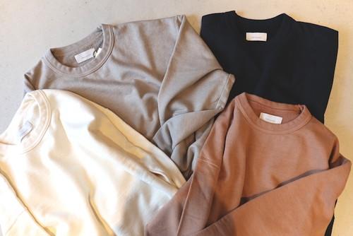 『Phlannel』Suvin Cotton Sweat Shirt