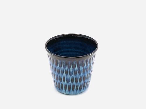 藁灰釉コップ