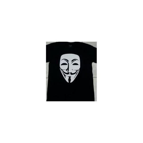 Vフォー・ヴェンデッタ V for Vendetta ヒューゴ・ウィーヴィング Hugo Weaving プリント Tシャツ