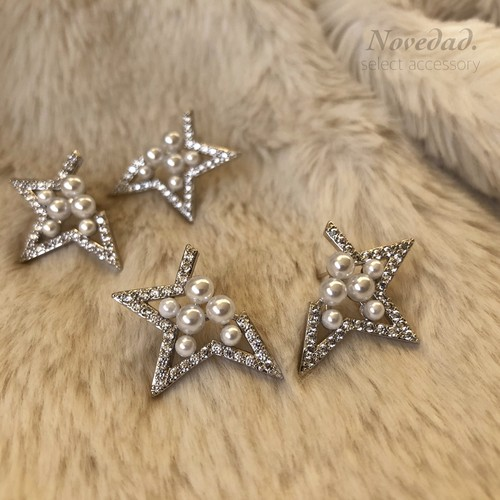 half STAR pearl pierce