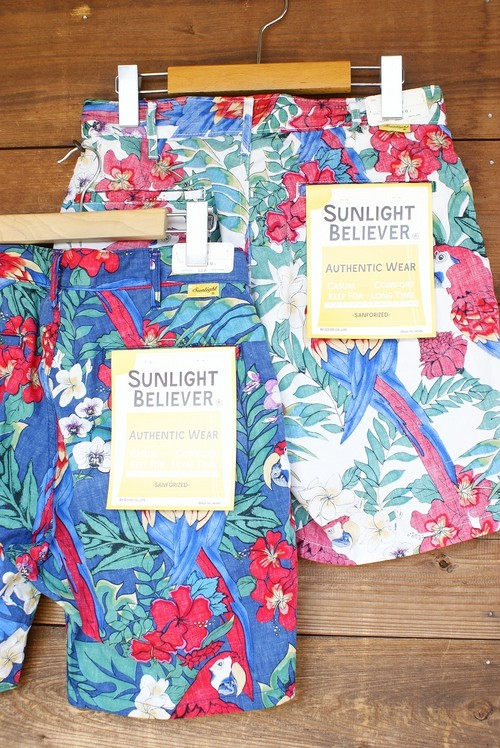 "Sunlight Believer ""Flower Bird Ivy Shorts"""