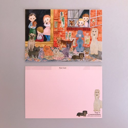 POST CARD「Dogs st」no.147