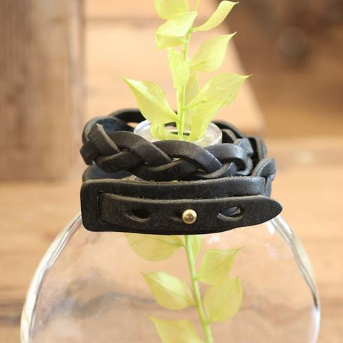MitsuAmi Bracelet / BLACK (プエブロ)