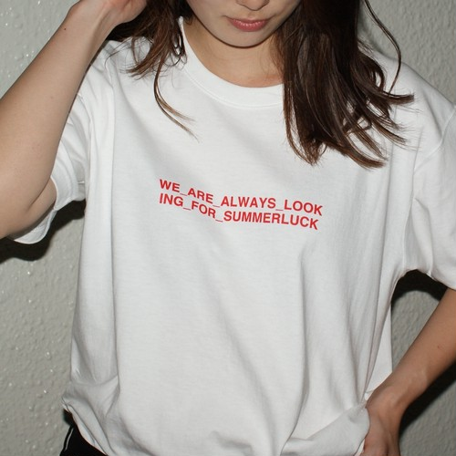 """""""Summerluck"""" T-Shirt / Candy Red Special【STORE限定】"""