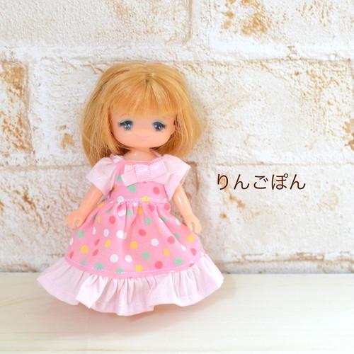 ミキちゃんマキちゃんサイズ ピンクのワンピース