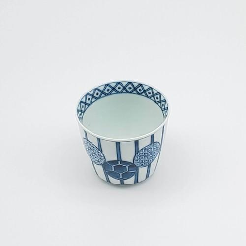 丸紋十草 猪口カップ