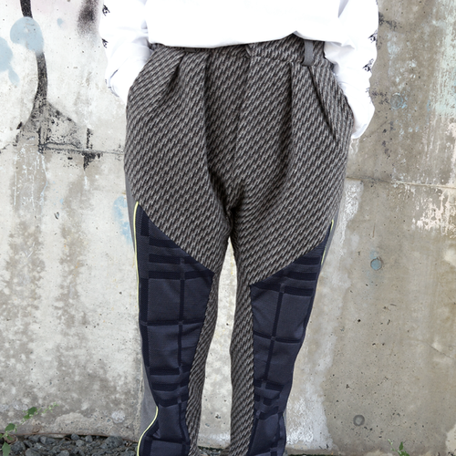 Lau made in Japan『kyokaisenパンツ/GRY』