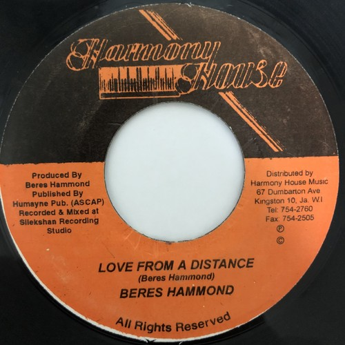 Beres Hammond - Love From A Distance【7-20416】