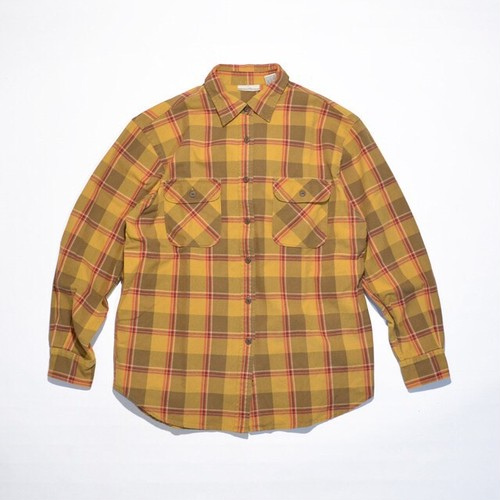 Used☆ OLD BANANA REPUBLIC Heavy Cotton Flannel Shirts
