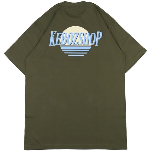 GMS HEAVY WEIGHT S/S TEE(MILITARY GREEN)