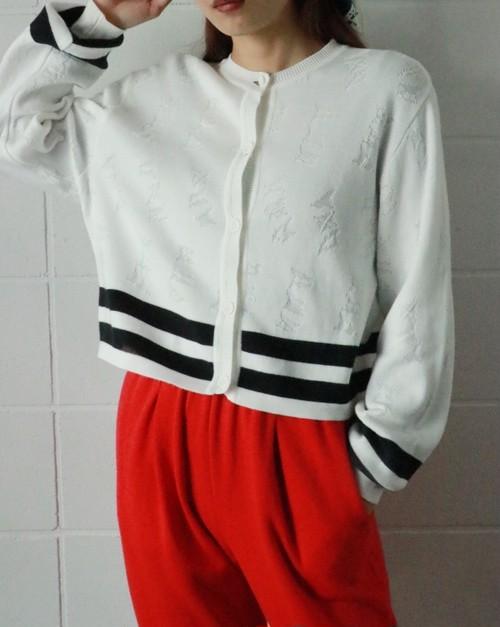 Christian Dior white cardigan