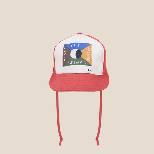 《BOBO CHOSES 2020AW》Flag Patch Cap / kids