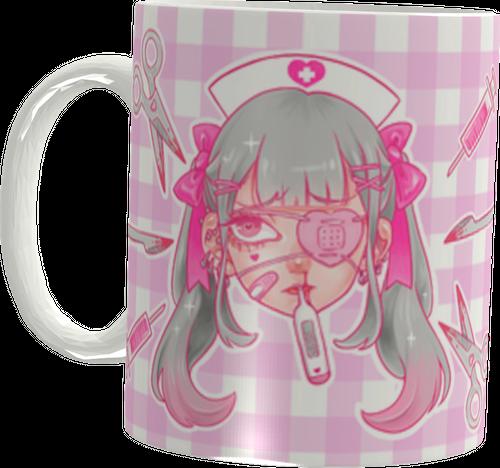 kuua×ほわいとりりぃ♡マグカップ♡