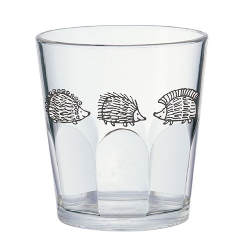 リサラーソン はりねずみ 北欧 LisaLarson コップ グラス