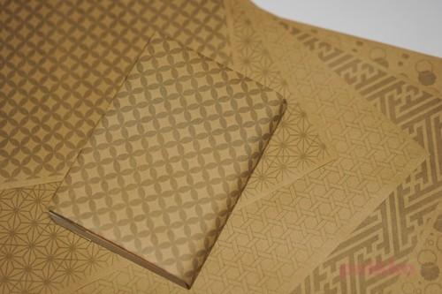 紙製ブックカバー 和柄パターン2