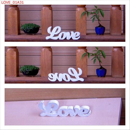 Love <H50mm 白>