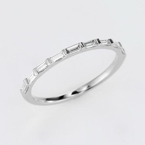 Elegant K18WG Diamond Ring (ダイヤモンド リング)
