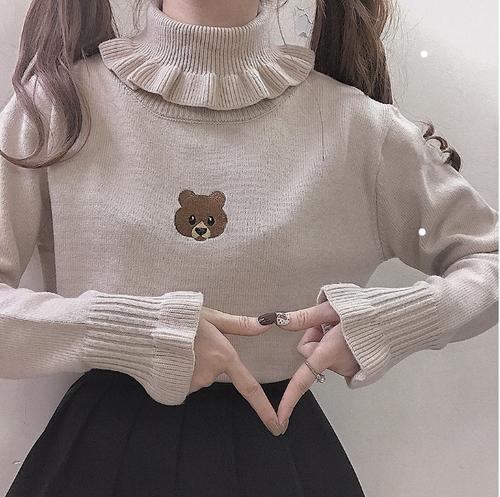 ガールズベアーセーター