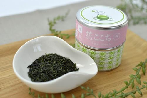 花ここち リーフ 50g/缶入り   【香り緑茶/牧之原産】