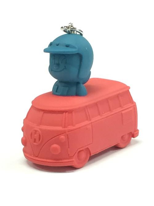 ワゴンバスメットくん 青×赤