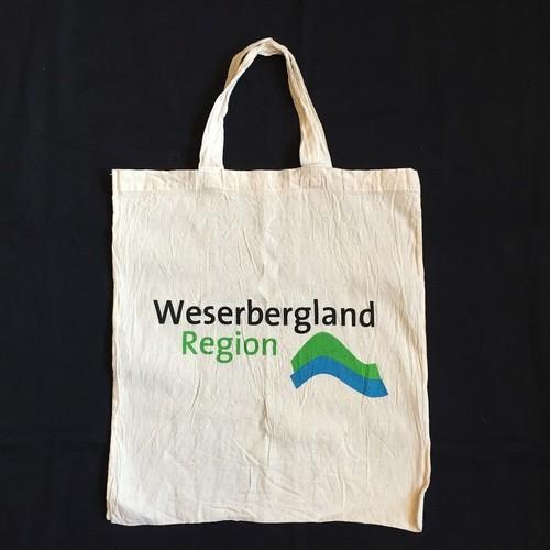 エコバッグ Weserbergland Region ロゴ