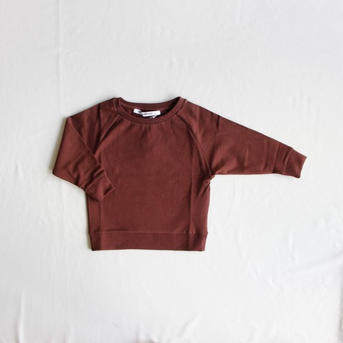 《MINGO.2019AW》Long sleeve T / Bitter Chocolate