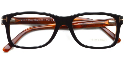 TF5163  005 (Black/ Red tortoise)    / TOMFORD