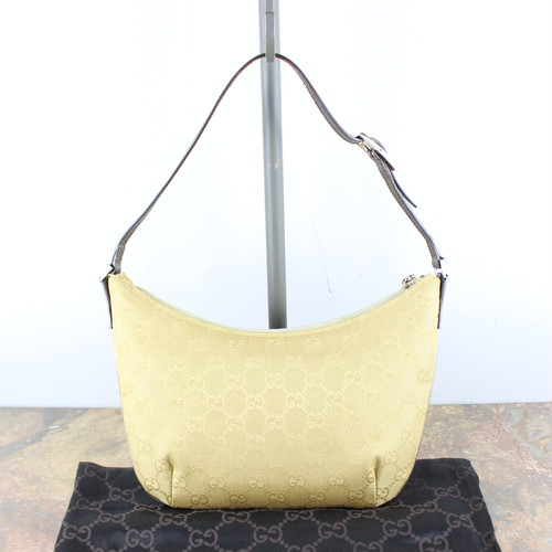 .GUCCI GG PATTERNED SEMI SHOULDER BAG MADE IN ITALY/グッチGG柄セミショルダーバッグ2000000051628