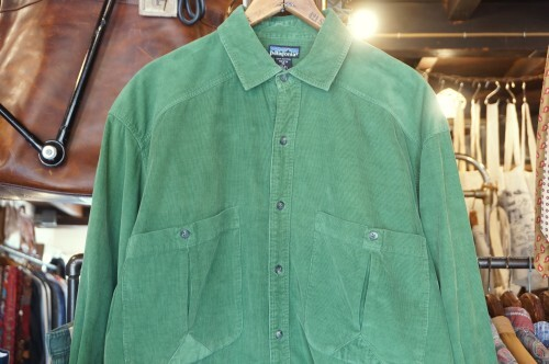 00's Patagonia forest-green corduroy Shirt