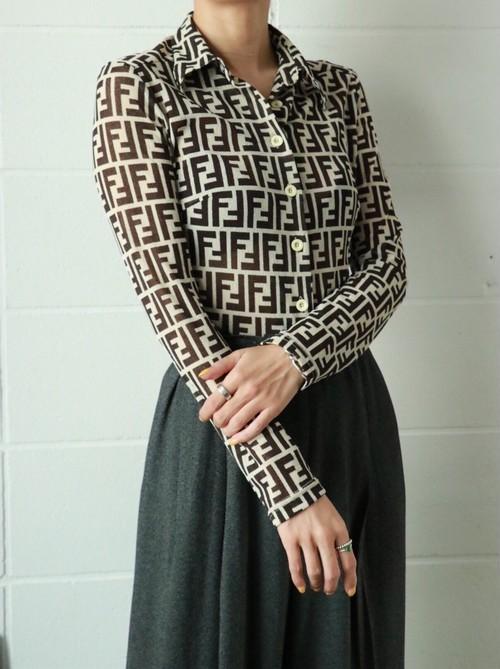 FENDI zucca shirt