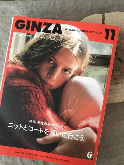 GINZA11月号掲載ジュースBOX