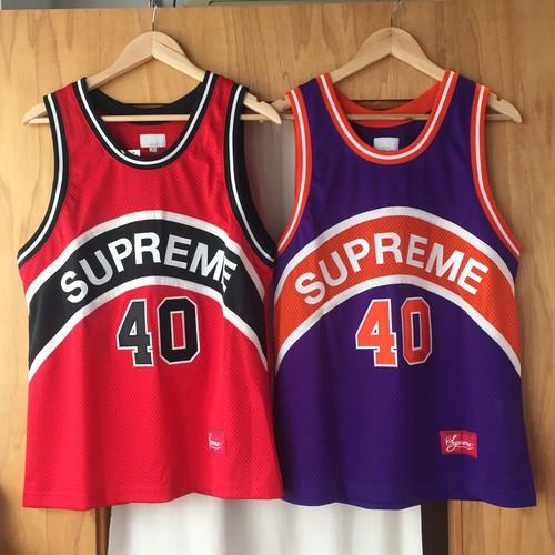 Supreme Curve Basketball Jersey