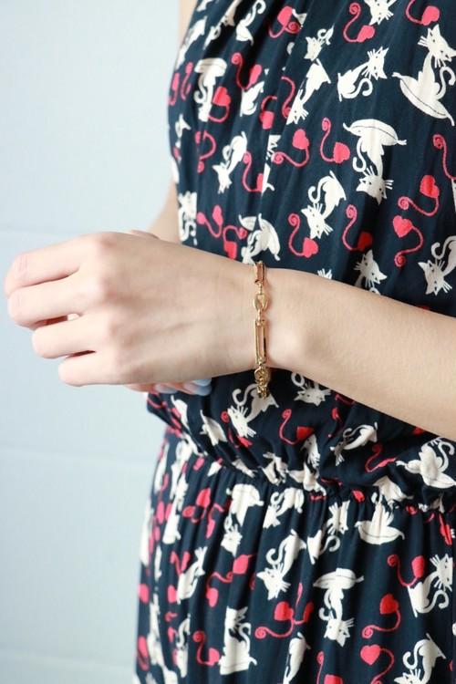 GIVENCHY gold chain bracelet