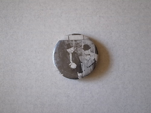 BADGE / OLD MOVIE SCENE