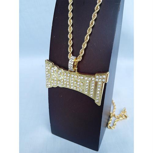 ESSKEETIT GOLD ゴールド 金 ネックレス ヒップホップ HIPHOP 1480