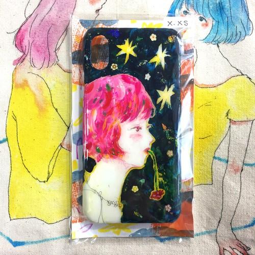 (iphoneX/XS)星降る夜の本音