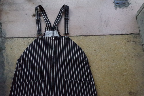 Remake stripe overall
