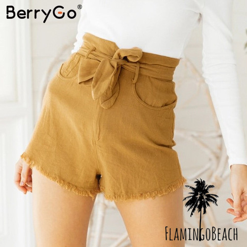 【FlamingoBeach】high west short pants ショートパンツ