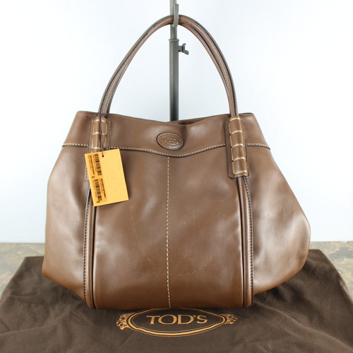 .TOD'S LEATHER HAND BAG MADE IN ITALY/トッズレザーハンドバッグ 2000000039527