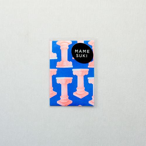 リソグラフ ポチ袋[ハシランド] Blue × Neon Orange