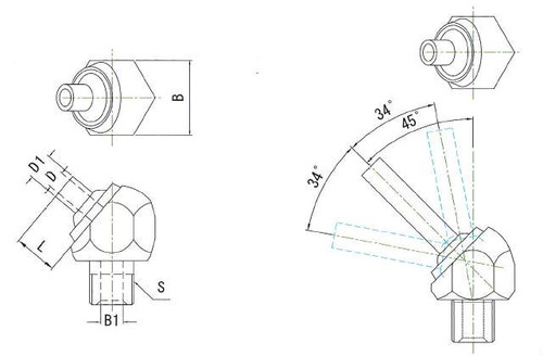 JTAN-1/4-50 高圧専用ノズル