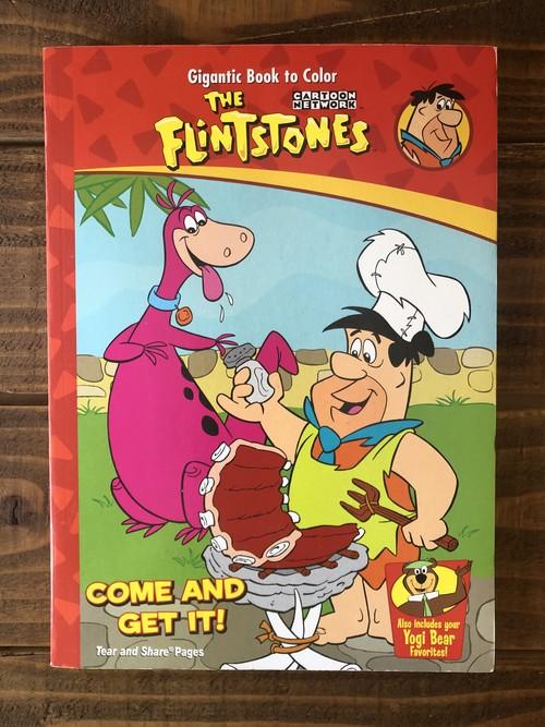 The Flintstones Gigantic Book to Color Yogi Bear/ プリントストーン ヨギベア ぬり絵 ハンナバーベラ