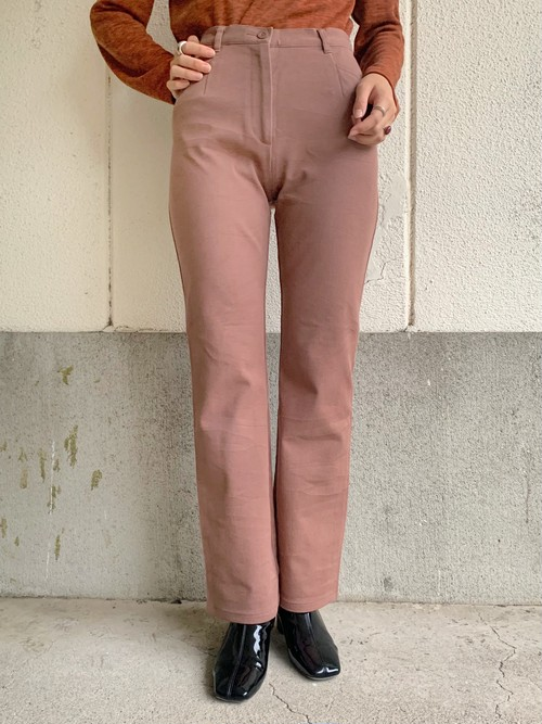 (TOYO) cotton stretch pants