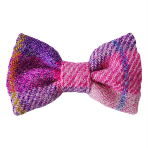 HT bowtie Light pink&Light purple