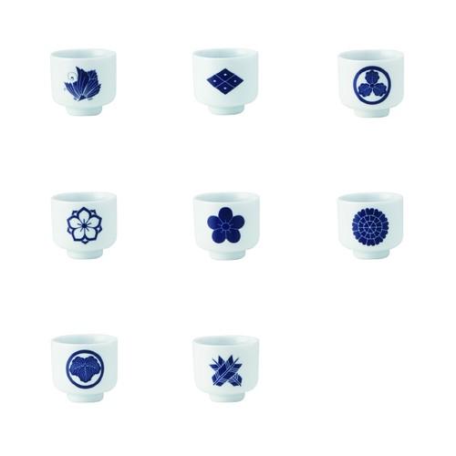イングレ侍コレクション 5勺家紋柄 Bセット
