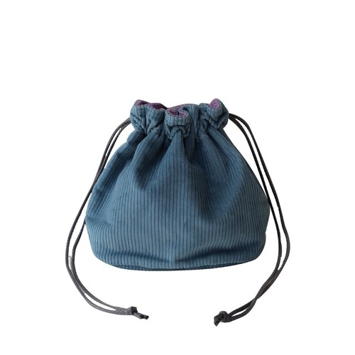 Reversible Bag/Ice Blue × Purple